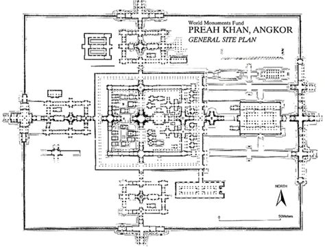 angkor wat floor plan preah khan architecture education rising from ruins twooregonians