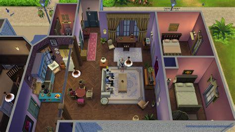 Cute Bathroom Ideas For Apartments les sims 4 un joueur recr 233 e la s 233 rie friends en 25 photos