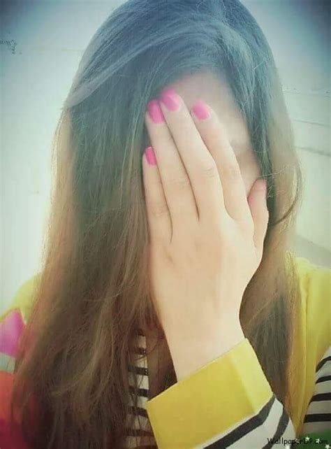 stylish hidden face girl photos cute girl hidden face profile picture download for fb