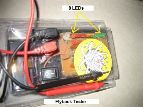 flyback diode test flyback and in circuit transistor tester electronics repair and technology news