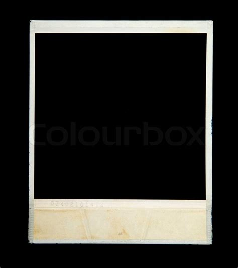 frame isolated on black background stock photo colourbox