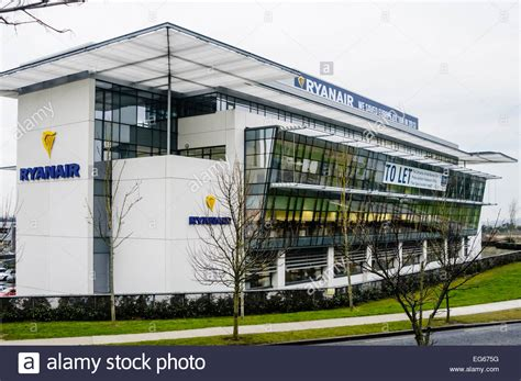 hq dublin ryanair corporate headquarters airside business park swords dublin stock photo royalty free