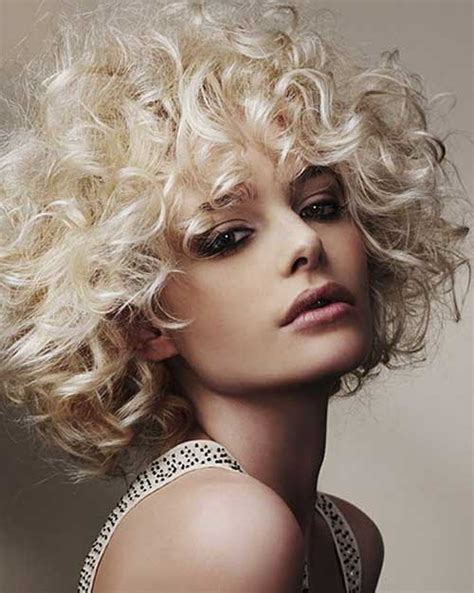 hair perms curls 15 curly perms for short hair short hairstyles 2016