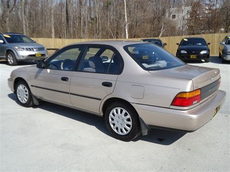 1995 Toyota Corolla Dx 1995 Toyota Corolla Dx For Sale In Cincinnati Oh Stock