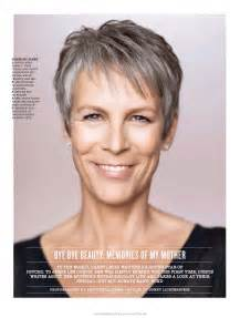 curtis haircut back view pictures of jamie lee curtis with short hair front and