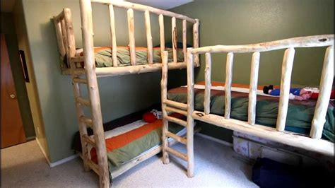 how to make bunk beds triple bunk bed triple bunk bed built in youtube