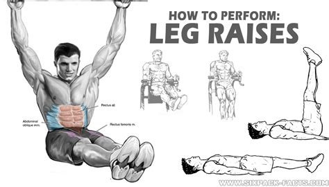 Abs Bench Press How To Perform Leg Raises Sixpack Facts