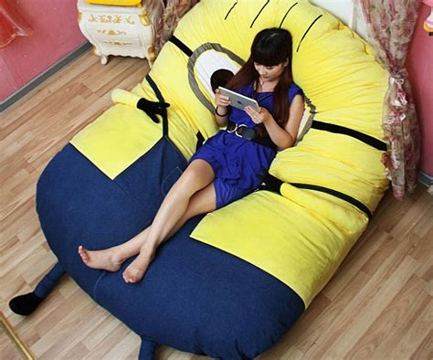 Comfy Chairs For Toddlers Pouf Minion Geek