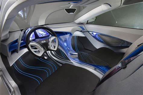 future cars inside hyundai nuvis concept car topix