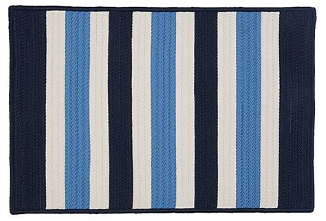 Navy Stripe Outdoor Rug Stripe Outdoor Rug Navy White