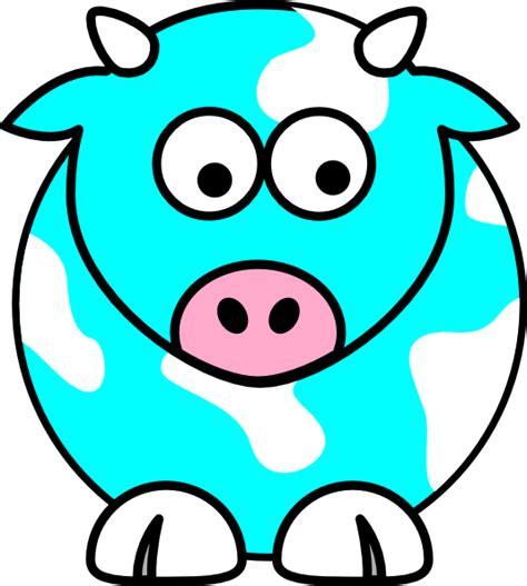 the blue cow blue cow clip art at clker com vector clip art online