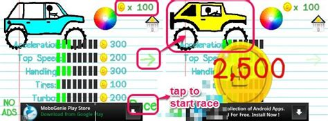 doodle race free racing for android with notebook doodles as