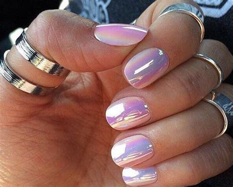 nail color chrome nail suitable for darker skin gophazer
