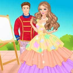 painting and dress up princess painting dress up