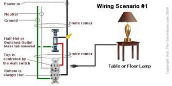 how to wire a 2 switch electrical outlet