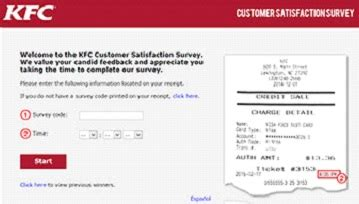 Kfc Sweepstakes - survey codes of my kfc experience sweepstakes wink24news