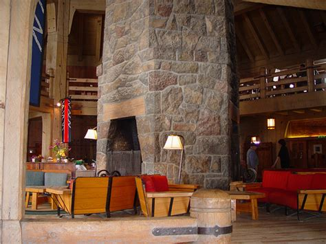 Timberline Lodge Fireplace by Timberline Lodge Fireplace Flickr Photo