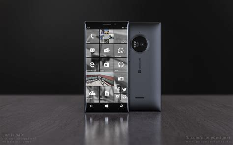 Microsoft 940 Xl this microsoft lumia 940 concept makes windows 10 mobile