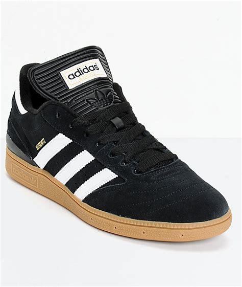 adidas busenitz pro black white gum skate shoes at zumiez pdp
