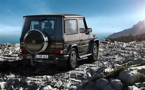 G500 2 Door by Mercedes G Class Two Door Nearing End Gets Special Edition