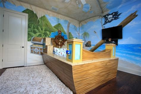 d馗oration chambre pirate deco chambre garcon theme pirate visuel 4