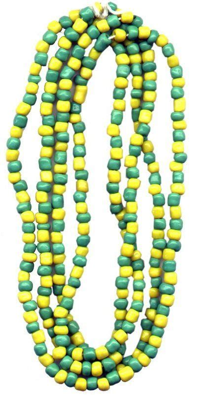 santeria color meanings santeria bead necklace orunla green and yellow