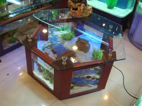 Aquarium Coffee Table Diy How About Aquarium Coffee Table Coffee Table Design Ideas