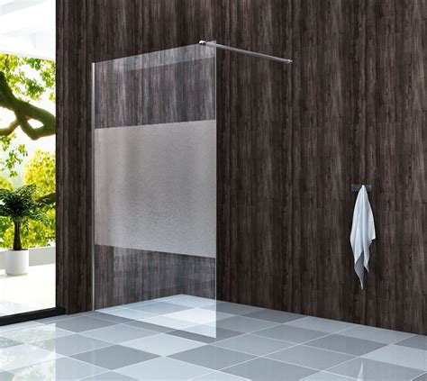 duschabtrennung dusche tandare fr duschwand 8mm glas walk in dusche duschkabine