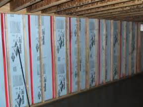 how to insulate a finished basement