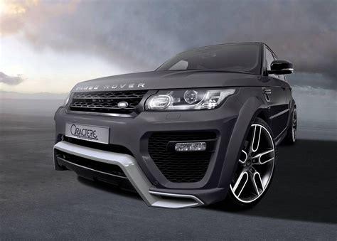 exclusive range rover sport caractere exclusive tweaks range rover sport forcegt