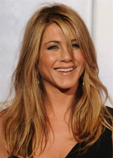 jennifer aniston natural hair color 139 best images about jennifer aniston on pinterest