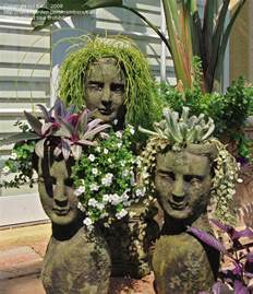 Face Planters by Specialty Gardening What Is Your Most Unusual Container