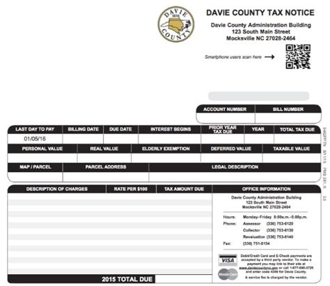 Davie County Property Tax Records Davie County Nc Official Website Understanding Your Property Tax Bill