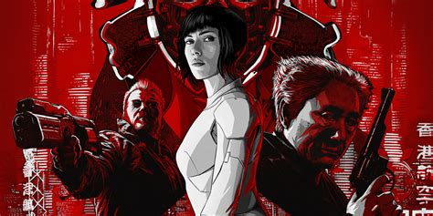 The New Ghost new ghost in the shell poster unites section 9 screen rant