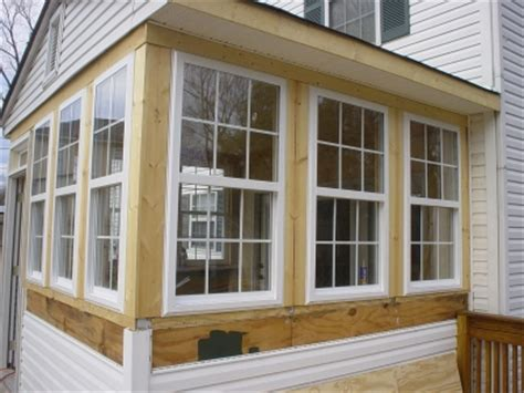 Turn Porch Into Sunroom how to convert a porch into a sunroom