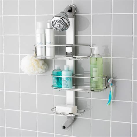 basics  shower caddies ideas  homes