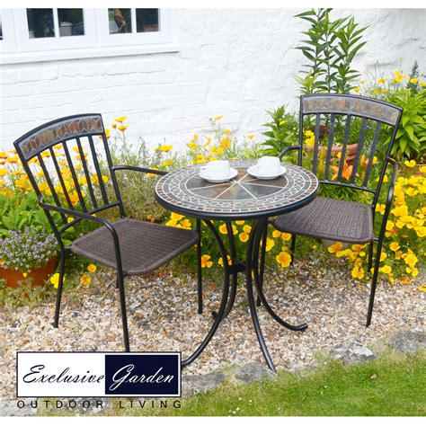 Garden Bistro Chairs Clandon Bistro Table With Kingswood Chairs