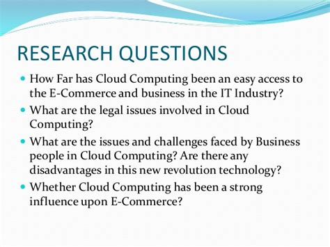 research paper on cloud computing security cloud computing in e commerce
