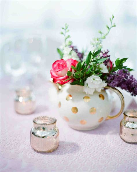 Flower Centerpieces by Floral Wedding Centerpieces Martha Stewart Weddings