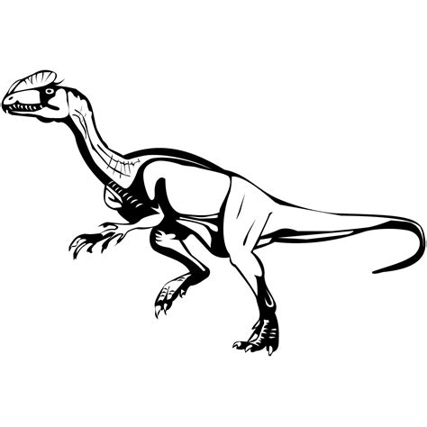 Free Coloring Pages Of Velociraptor Velociraptor Coloring Page