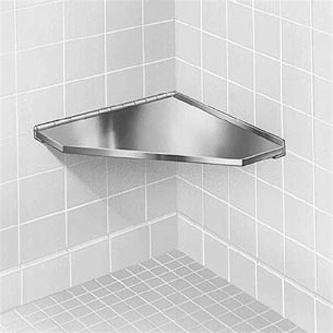stainless steel shower bench bradley stainless steel corner shower seat
