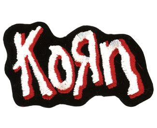 Korn Logo 1 logo by korn patches logo korn patches logo korn