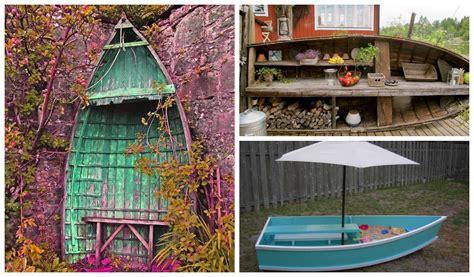 diy repurposed boats ideas