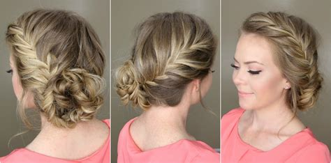 buns hairstyles how to easy braided bun up do hairstyles