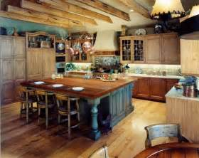 Rustic Kitchen Island Ideas by 46 Fabulous Country Kitchen Designs Ideas