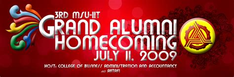 backdrop design for alumni homecoming msu iit homecoming tarp design by jedskie on deviantart