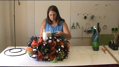 Chandelier Centerpiece Wedding Trendy Tree Halloween Centerpiece Tutorial Youtube