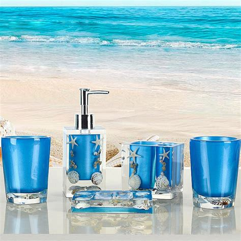ocean blue bathroom accessories luxurious the 25 best beach theme bathroom ideas on
