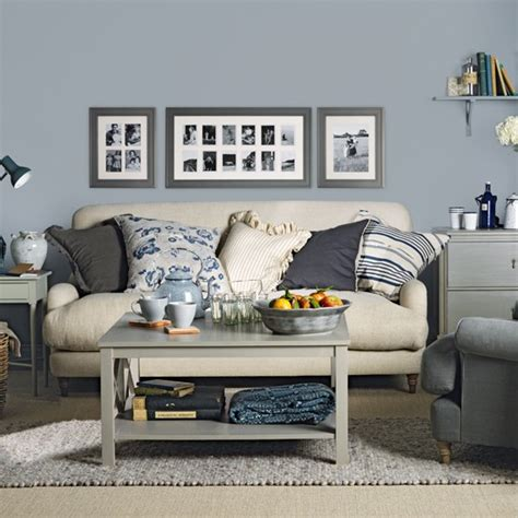 wohnzimmer blau grau blue grey living room housetohome co uk