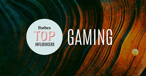 top influencers   gaming